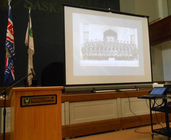 Honouring our heroes - Remember Us - University of Saskatchewan Great War Commemoration Committee slide show