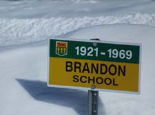 Brandon School District 4367 North West Section 13 Township 27 Range 32 West of the First Meridian 1921-1969 near Wroxton and Starleigh, Saskatchewan