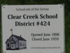 Clear Creek 424 School