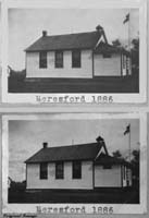 Beresford School District 1886, one room school house picture
