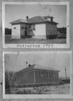 Butterton School District 3729, one room school house picture
