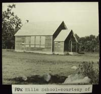 FOX HILLS 190 1910 Org. 1912 Classes. 1953 SW of SE 14 Township 24 Range 16 W of the 2 nd Meridian near Fox Hills   P.O. SE Section 14 Tsp 24 Rge 16 W2   Footnotes Class Photo 1915
