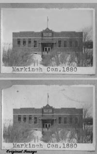 MARKINCH CON 1880     Regina Sheet Map     Township 23 Range 18 W of the 2 nd Meridian near Markinch 1949 P.O. SE Section 7 Tsp 23 Rge 17 W2