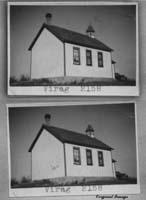 VIRAG 2158 1908 1960 Yorkton Sheet Map NE 33 Township 26 Range 15 W of the 2 nd Meridian near Lestock 1949