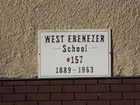 West Ebenezer School District #157 8 , SK