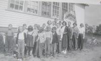 BRIDGEFORD School District # 2055 (first name) HAYWOODS SCHOOL (second name) HAWOODS SCHOOL DISTRICT 2055 (1927-1960)  SE Sec 29 Tsp 36 Rge 8 W of the 3 Meridian near Grandora Hawoods CN Siding SE 20 36 8 W3 Saskatoon NW 28 36 5 W3 Blackley School District SW 21 37 4 W3 Kilmaurs School District 180 1887-1897 RM Vanscoy 345 was RM Longanton 345 Province of Saskatchewan, Canada