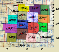 Saskatchewan Gen Web - One room School Project,Fosti 	1700 	turquoise 	NE 	21 	29 	9 	West of the 2nd Meridian ,Rural Municipality of Insinger No. 275,One Room School Districts,The RM was incorporated January 1, 1913,Near Insinger, Sheho and Theodore,Decimal 51.52267 -103.07977,DDD MM.MMM N 51° 31.360 W 103° 04.786,DDD MM SS.SSS, N 51° 31' 21.612 W 103° 4' 47.172,Insinger, Saskatchewan Province, Saskatchewan