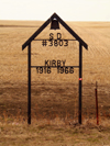 Kirby School District 3803  Estlin, Saskatchewan 1916-1966