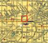 Peveril school #551 in 1911 was NW  5 - 33 - 8  West 3rd, Rm of Vanscoy # 345.  Saskatchewan Gen Web - One room School Project