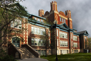 Buena Vista School opened 1913-1914, the Normal School rented four rooms and relocated to this location in 1914