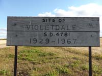 Violetdale School District 4781,. New NE quarter of section 18-township 40- range 16 w 2nd new school build on new location 1947, Old NE quarter of section 08- township 40-range 16 w 2nd original log building 1929 Spalding, Saskatchewan