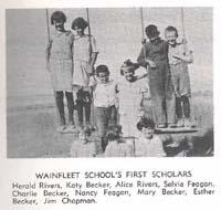 Wainfleet School District 4561 south west quarter section 35 township 23 range 29 west of the third meridian near Estuary, SK  Saskatchewan Gen Web - One room School Project