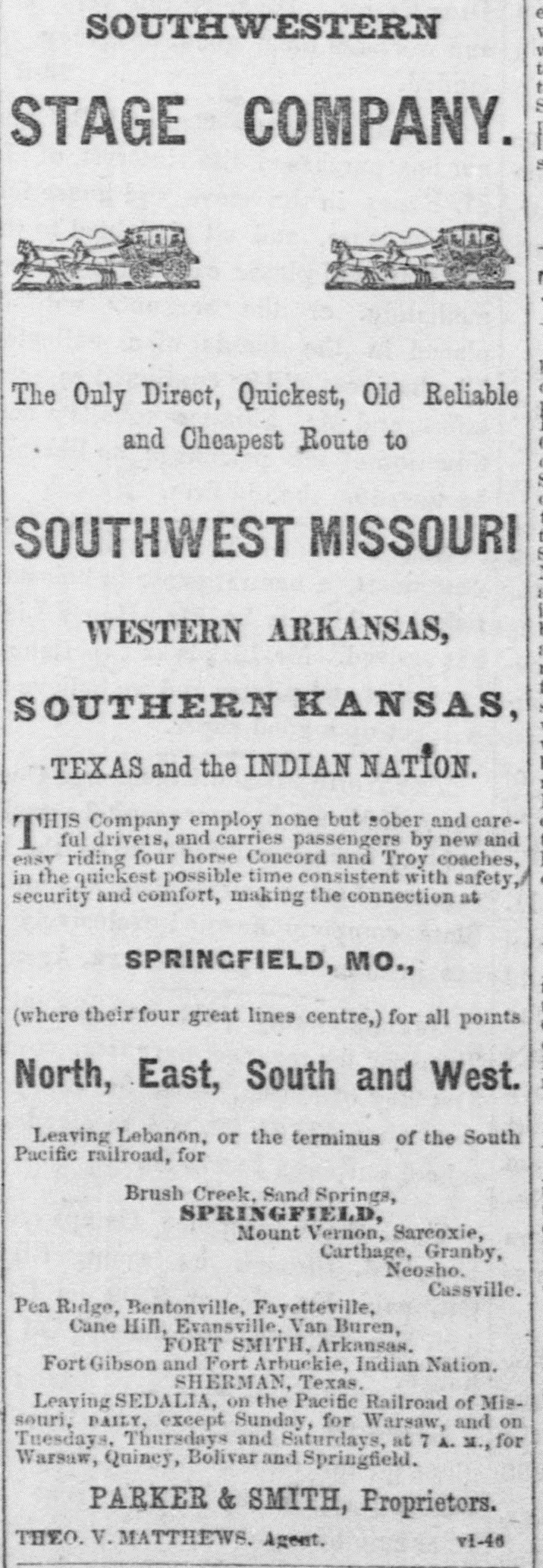 BARRY COUNTY HISTORY: NEWSPAPER CLIPPINGS