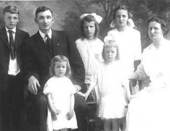 Family of Otto Strike and Emily Russell