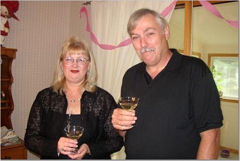 Yvonne and Steve 2003