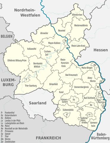 Rheinland Pfalz Germany Worldgenweb Project