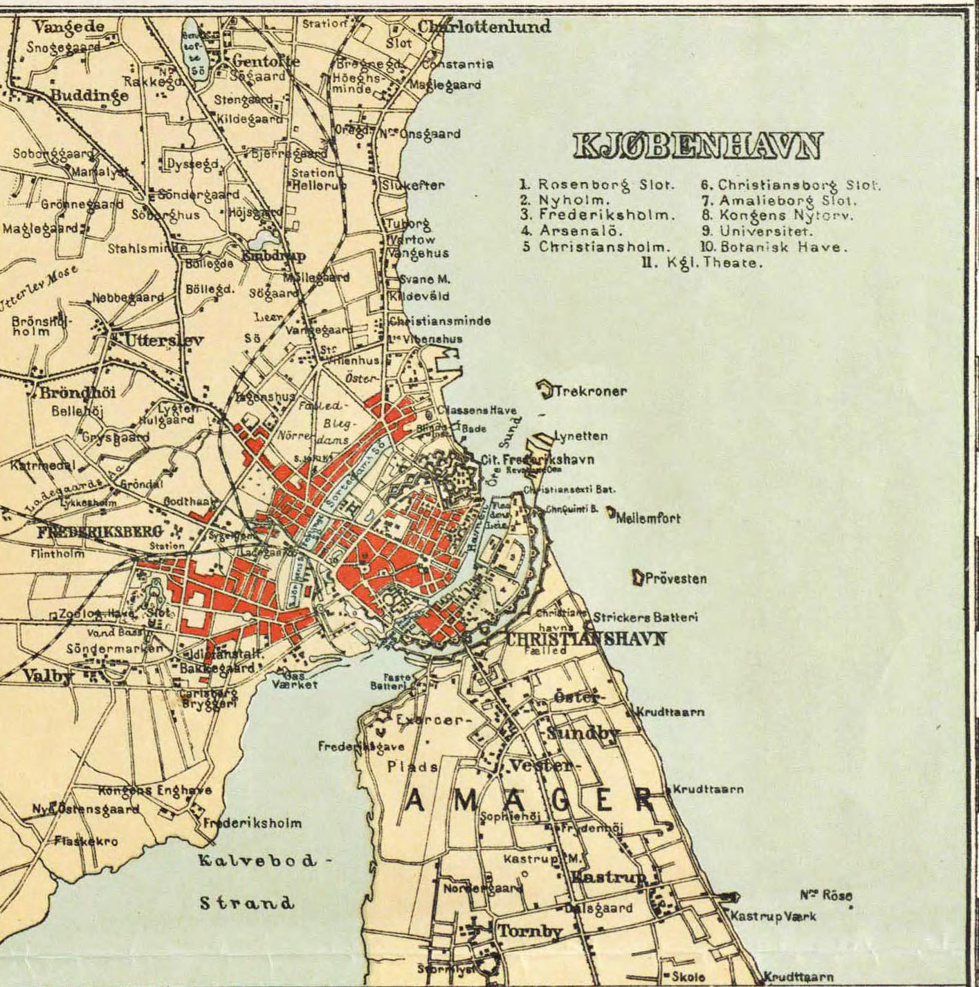 Maps Of Denmark