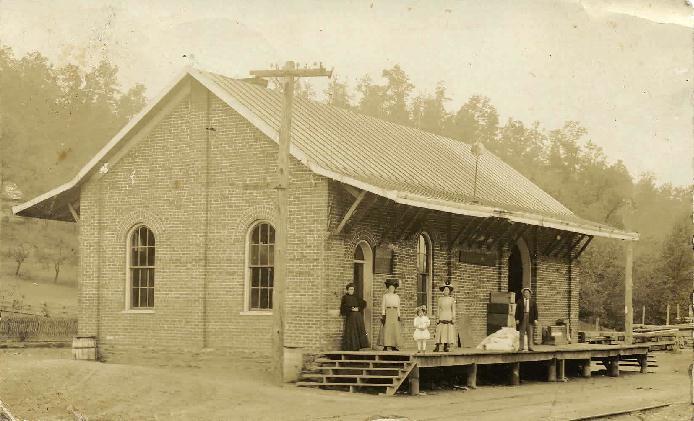 Mineral Bluff, GA Depot