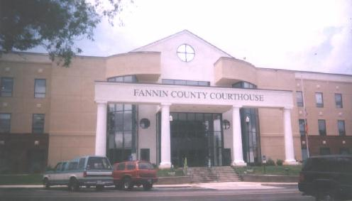 New Fannin County Courthouse
