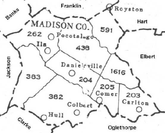 Map Of Georgia Militia Districts.Gmd