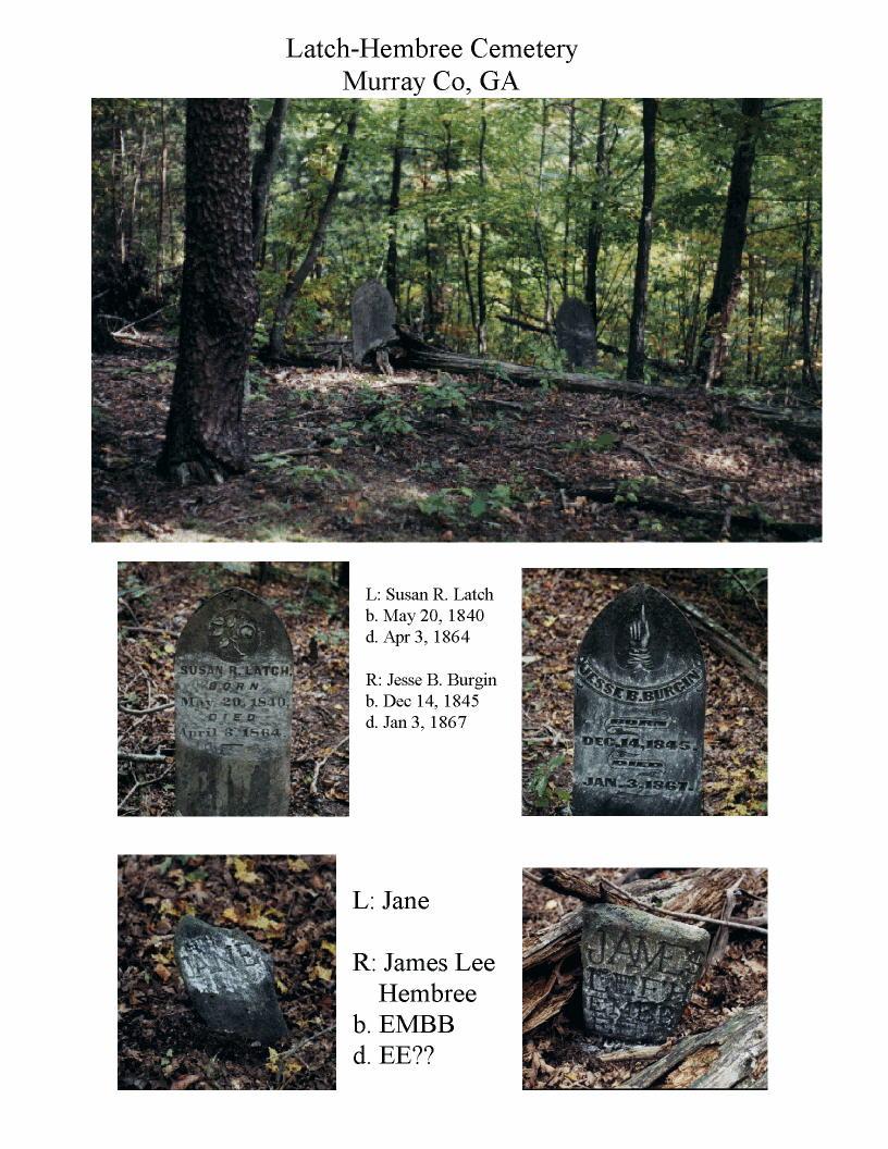 Latch-Hembree Cemetery Photos