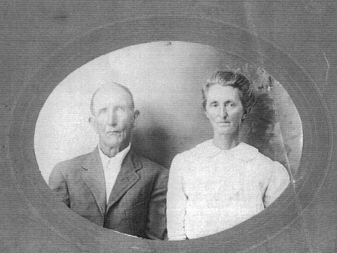 Phedila C. Byers and wife, Sarah Jane Coffey