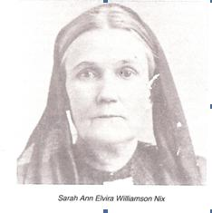 Sarah Ann Elvira Williamson Nix