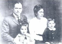 John Joseph and Lula May Estee Vandiver and Children