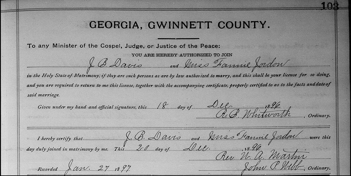 gwinnett county public marriage records