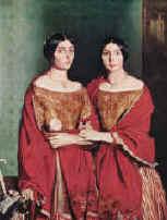 Adèle et Aline, soeurs de l'artiste, 1843, photo © D. Arnaudet ; G. Blot, Réunion des musées nationaux