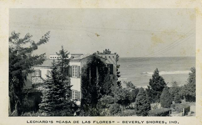 Le Leonard S Casa De Las Flores Beverly Ss Indiana Date 1962 Publisher National Press Postmark 26 Michigan City