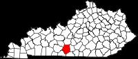 Kentucky Map - Courtesy of Wikipedia.com