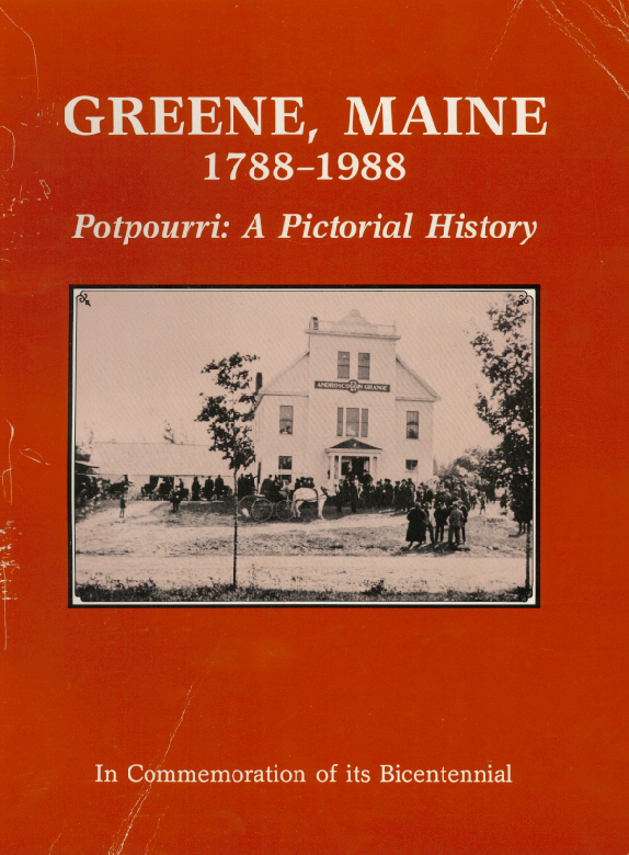 History of Greene, Maine 1788-1988 jpg (A pictorial History)