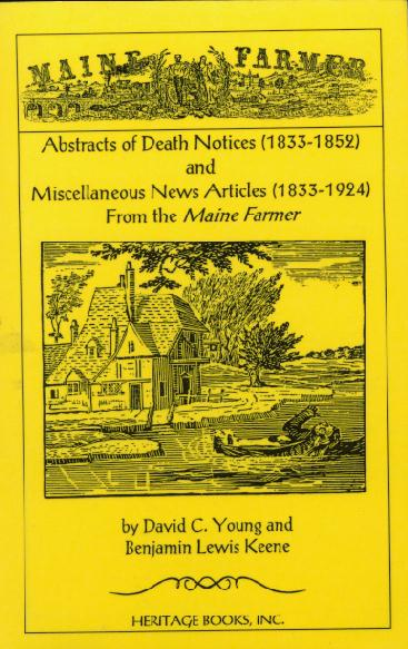 Abstracts of Death Notices from the Maine Farmer (1833-1852) jpg