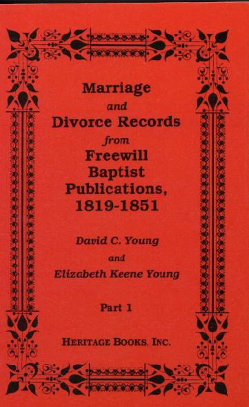 Marriages from the Free Will Baptist Publications (1819-1851)jpg
