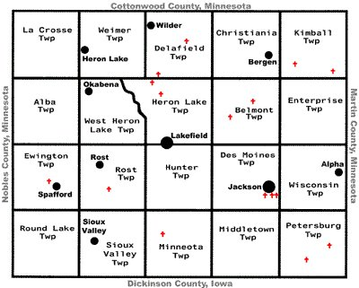 Jackson County Plat Map Maps   Jackson County MN GenWeb