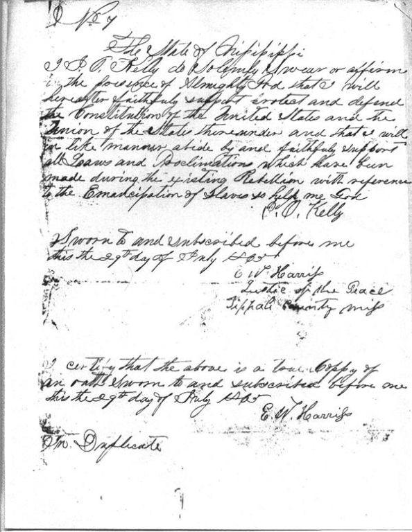 Copy of John Kelly Oath