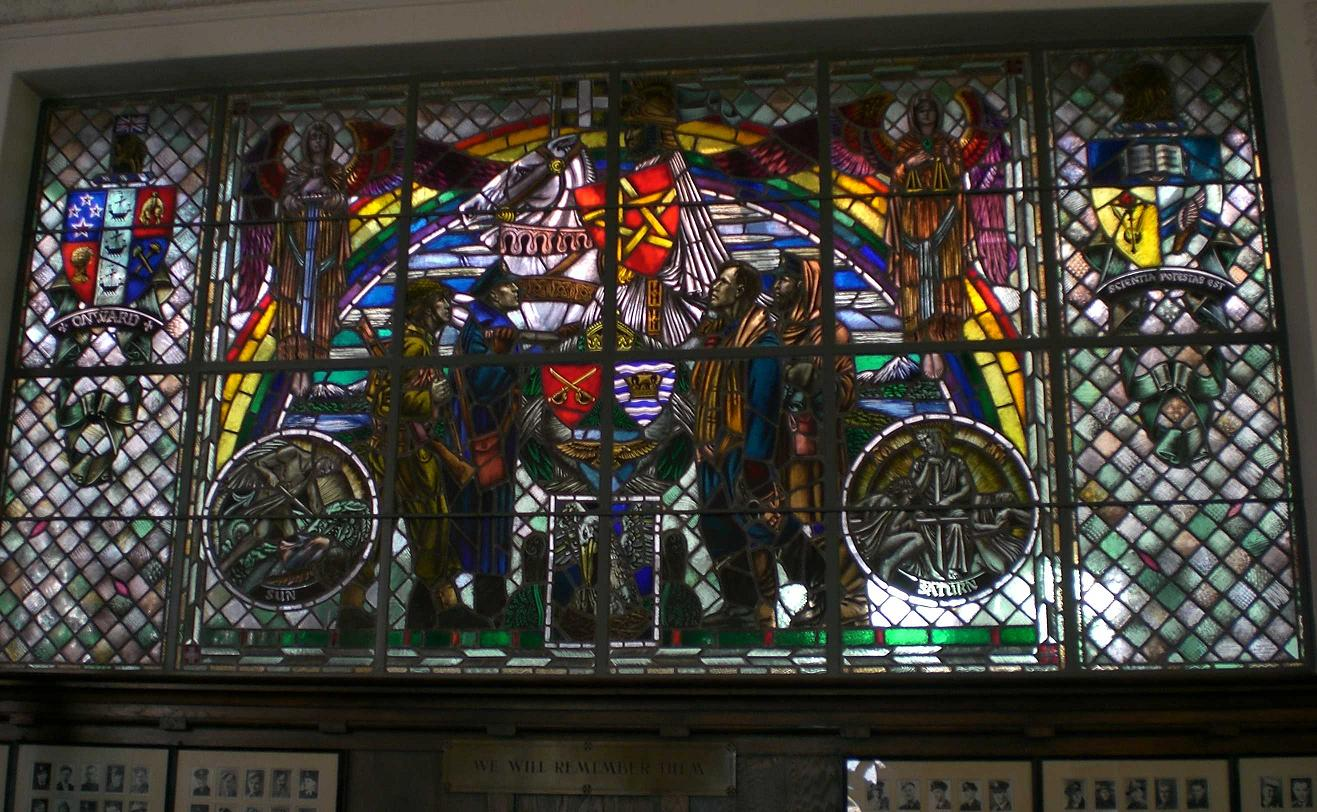 Timaru Boys High School Memorial Window