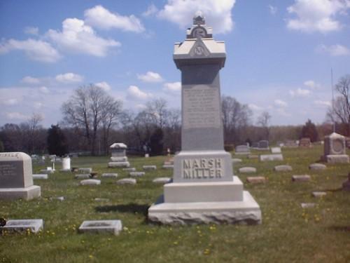 The Marsh Miller Monument