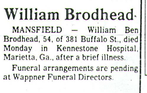 Obituaries & Death Notices: Bo - Bz