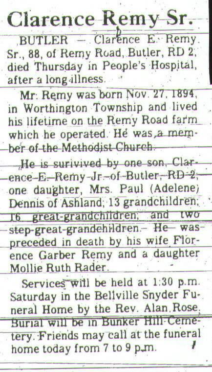 Obituaries & Death Notices: Ra - Ri