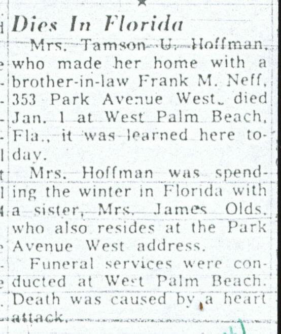 Obituaries & Death Notices: Ho - Hy