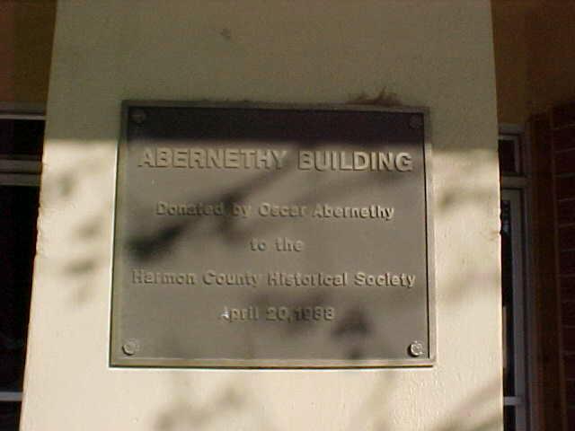 Abernathy Sign