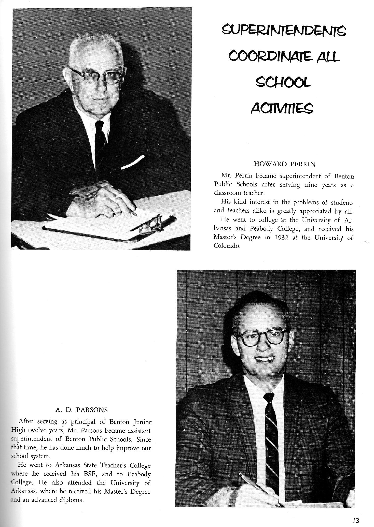 1966 Benton High School, Benton, Arkansas, Yearbook