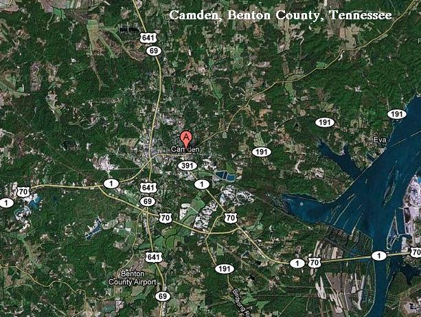 History, Benton Co., TN. on
