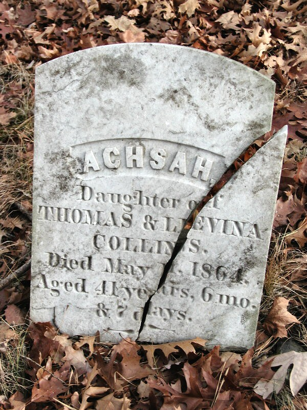 Collins Family Graves in Rhode Island