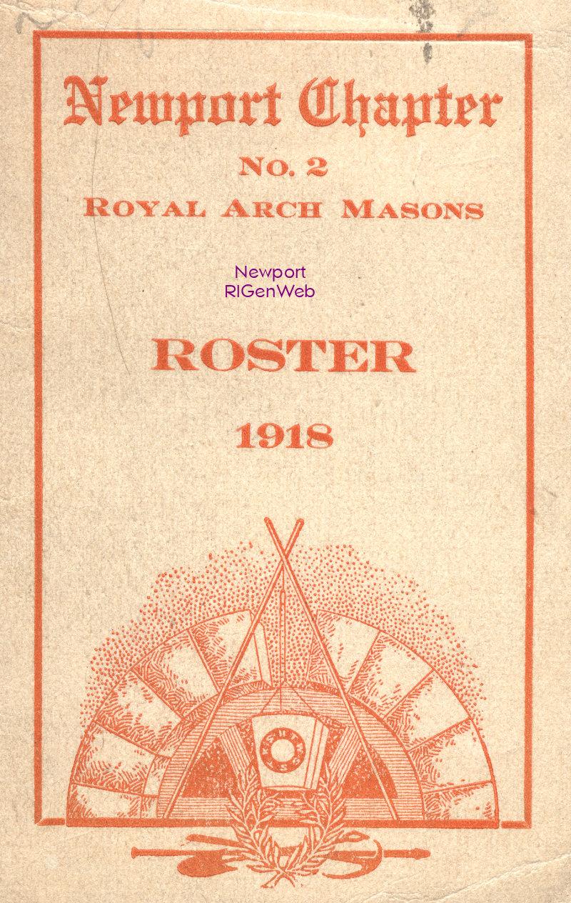 Newport Chapter No  2 Royal Arch Masons