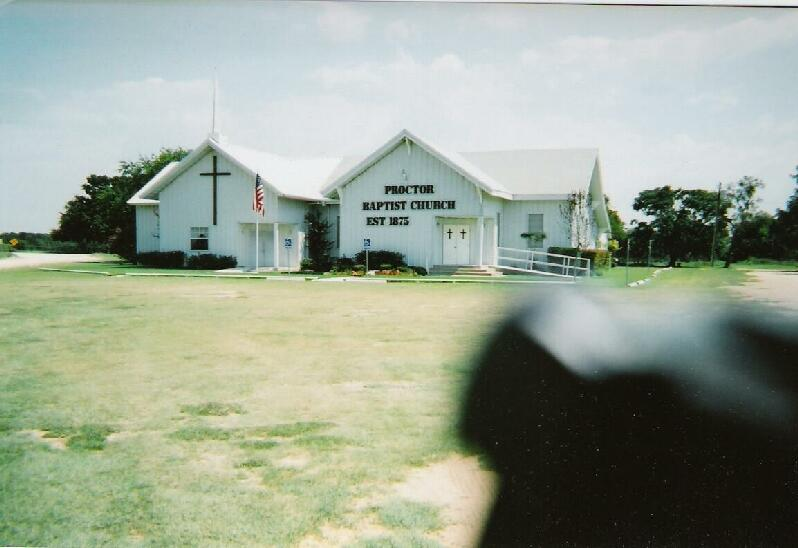 Proctor, TX Baptist Church (New Photo)