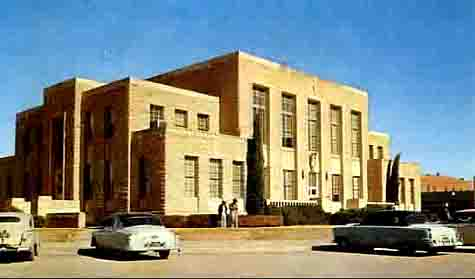 Comanche County Courthouse, 1950's