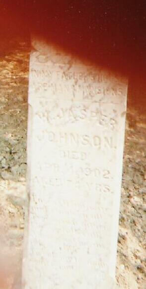 Tombstone of William Johnson